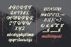 Sunkill Script Font Product Image 3