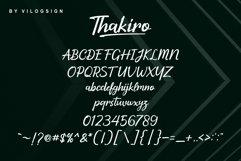 Thakiro // Modern Script Font Product Image 4