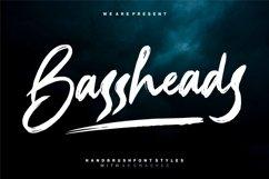 Bassheads - Handbrush Font Product Image 1