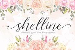Shelline - Romantic Script Product Image 1