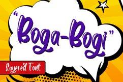 Boga-bogi Layered Font Product Image 1