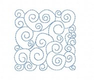 Quilt Block Stippling in 3 sizes Product Image 1