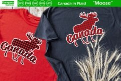 Canada in Plaid - Moose Product Image 1