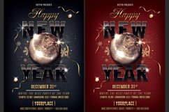 Classy New Year Party Flyer Product Image 1