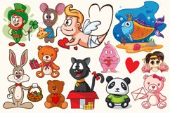 Cartoon Characters & Items Bundle Product Image 2