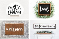 Farmhouse Font Bundle - Handwritten Fonts for Crafters! Product Image 3