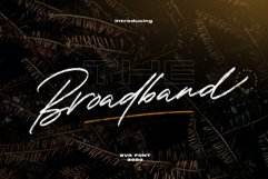 The Broadband - SVG Font Product Image 1