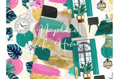 Home digital paper, furniture papers, seamless patterns Product Image 4