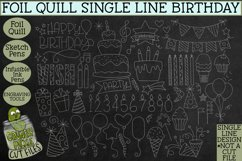 Foil Quill Birthday 50 Piece Bundle / Single Line Product Image 2