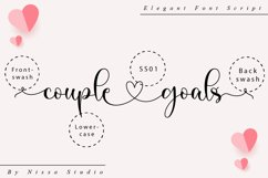 Couple Goals - Romantic Font Product Image 10