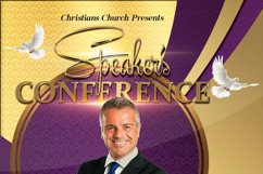 Speaker's Conference Church Flyer Product Image 2