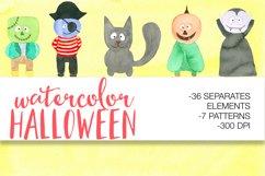 Watercolor Halloween Product Image 1