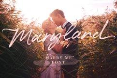Maryland Wedding Font Product Image 1