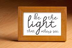 Lighting Script Font Product Image 3