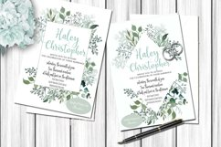 Watercolor Greenery 54 Piece Bundle in Silver Sage and Gray Product Image 6
