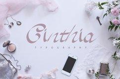 Cinthia Typography Product Image 1