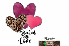 Baked with Love Valentine Kitchen Dye Sublimation Product Image 3