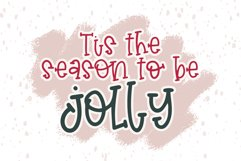 Christmas Stocking - A Hand Lettered Font Product Image 6