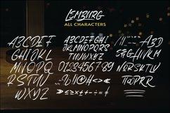 Lemburg - Textured Font Product Image 2