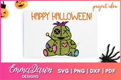 VINNY THE VOODOO DOLL SVG CUTE DESIGN Product Image 4