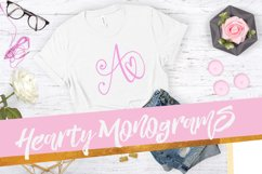Hearty Monograms - Font  Product Image 1