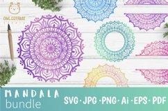 Mandala Bundle SVG, Yoga Mandala Cutting Files, Indian Round Product Image 1