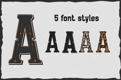 10 Vintage Font Families Bundle Product Image 3