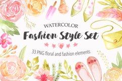Summer Watercolor Floral BUNDLE Product Image 4