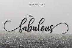 Fabulous Script | WEB FONT Product Image 1