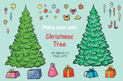 Xmas Cats clip-art, patterns, cards Product Image 3