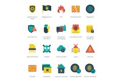 60 Security Icons Product Image 4