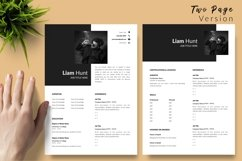 Modern Resume CV Template for Word & Pages Liam Hunt Product Image 3