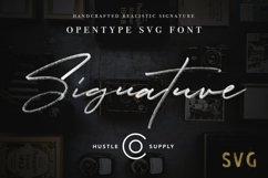 JV Signature SVG - Opentype SVG FONT Product Image 1
