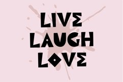 Web Font Bling Life, a quirky handwritten font Product Image 3