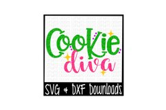 Cookie Diva Cut File Product Image 1