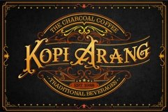 The heritages Palace Vintage Typeface Product Image 4