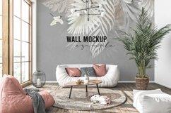Wall mockup - Interior mockup - Wallpaper mockup Product Image 4