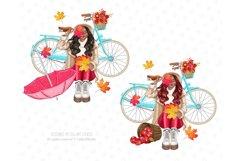 Fall Clipart, Autumn fashion Illustration Product Image 6