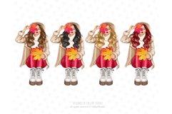 Fall Clipart, Autumn fashion Illustration Product Image 3