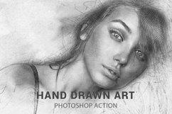 Hand Drawn Art Photoshop Action Product Image 1