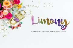 Limony Script Product Image 1