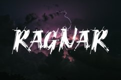 Ragnar Brush Font Product Image 1