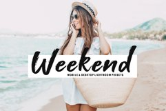 Weekend Mobile & Desktop Lightroom Presets Product Image 1