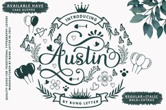 Austin - Modern Calligraphy Product Image 1