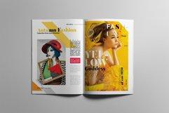 Fashion Magazine Layout Template Product Image 4