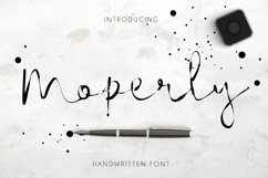 Moperly Script Product Image 1