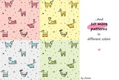 Little Serious Dog - patterns and clip-art Product Image 3