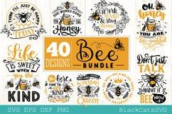 Bee Bundle SVG 40 designs Product Image 4