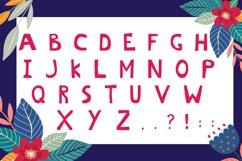Hello Summer Cutout Font Product Image 3