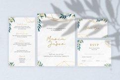 Emola Watercolor Wedding Invitation Product Image 2